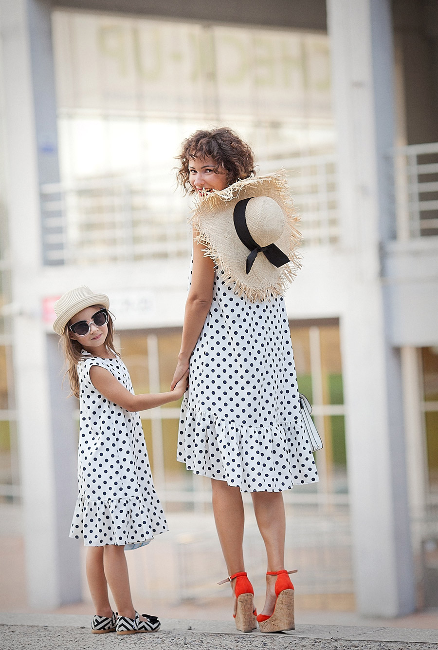 kids fashion, kids street style, kids personal style blog, polka dot dresses,