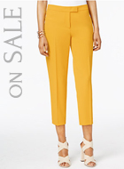 Anne Klein Slim Cropped Pants