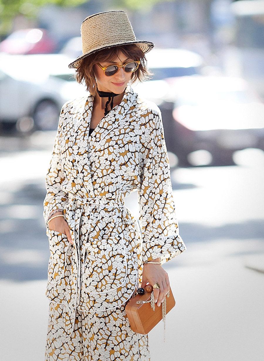 пижамный стиль, модные тренды лета 2016, пижамный стиль,