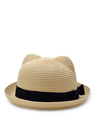 Bowler Straw hat for KIDS