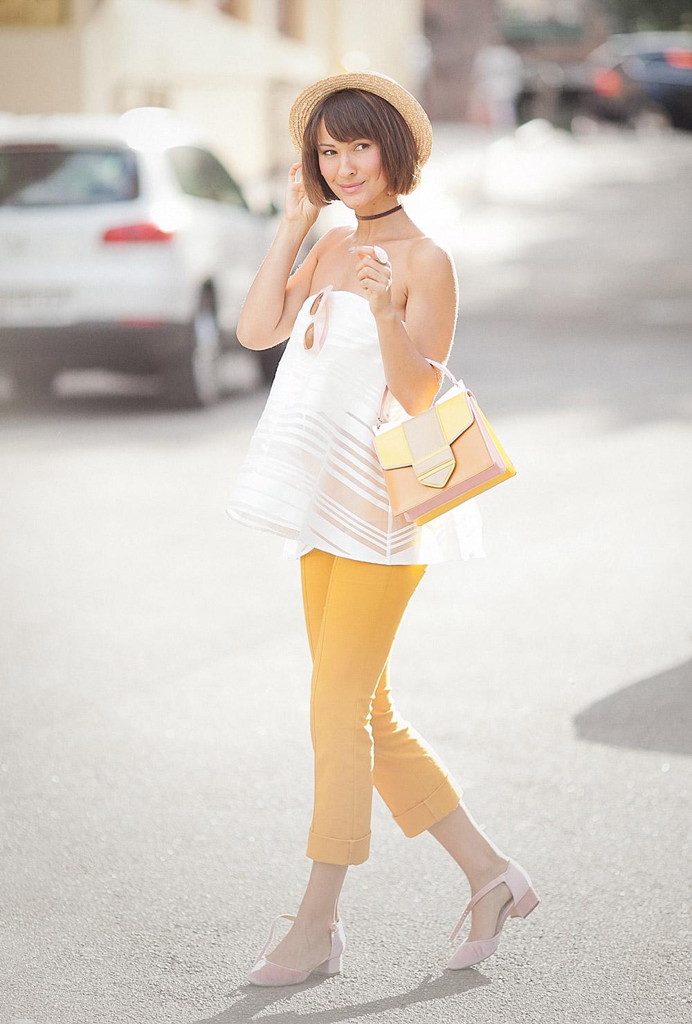 mustard street look, mustard-street style ideas, summer street styles,