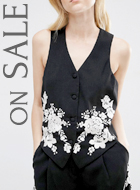 ASOS Embroidered Vest