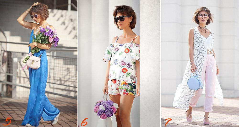 летние луки, что надеть летом, летние наряды, летняя мода,