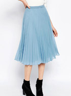 ASOS Pleated Midi Skirt