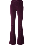 PAIGE  corduroy flared trousers