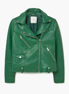 MANGO biker jacket