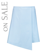 VIONNET Wool and angora skirt