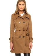Sincerely Jules Trench Coat