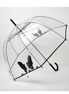 Transparent Bulldog umbrella