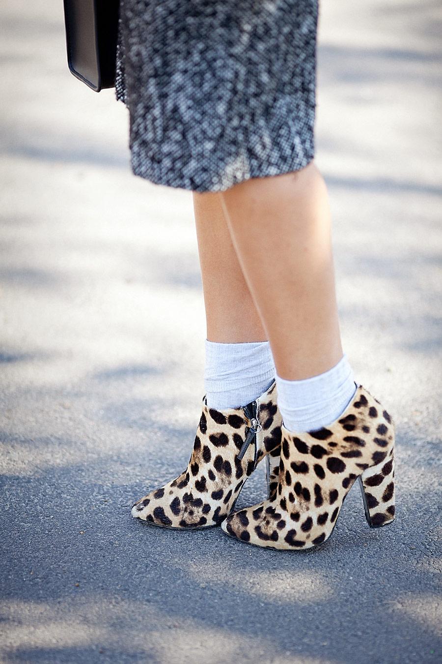 leopard prints boots