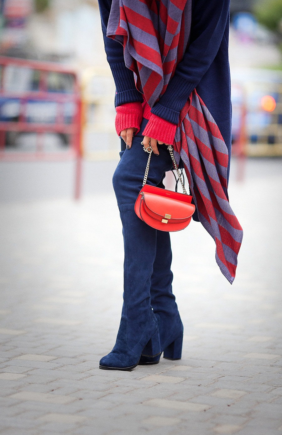 stuart weitzman over the knee boots, stuart weitzman boots photo, chloe georgia bag,