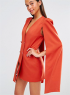 LAVISH ALICE CAPE DRESS