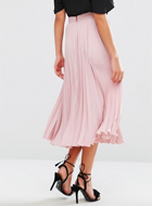CLOSET PLEATED SKIRT