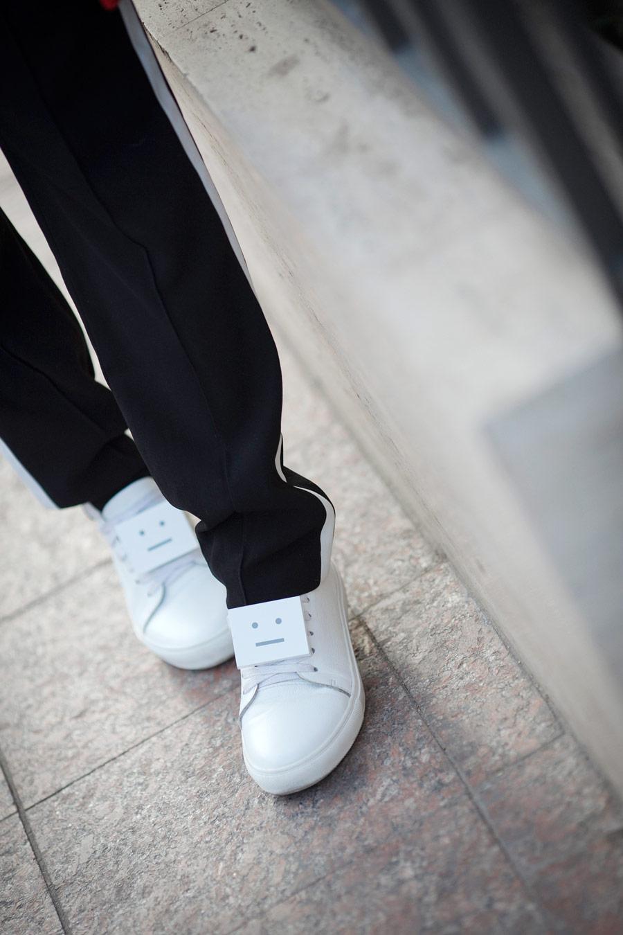 acne sudios adrianna sneakers