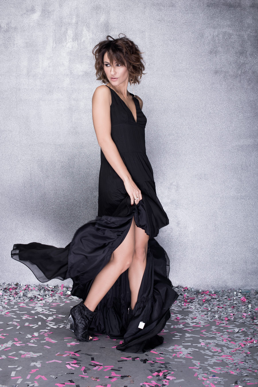 guerlain campaign, Guerlain ad, Guerlain La Petite Robe Noir,