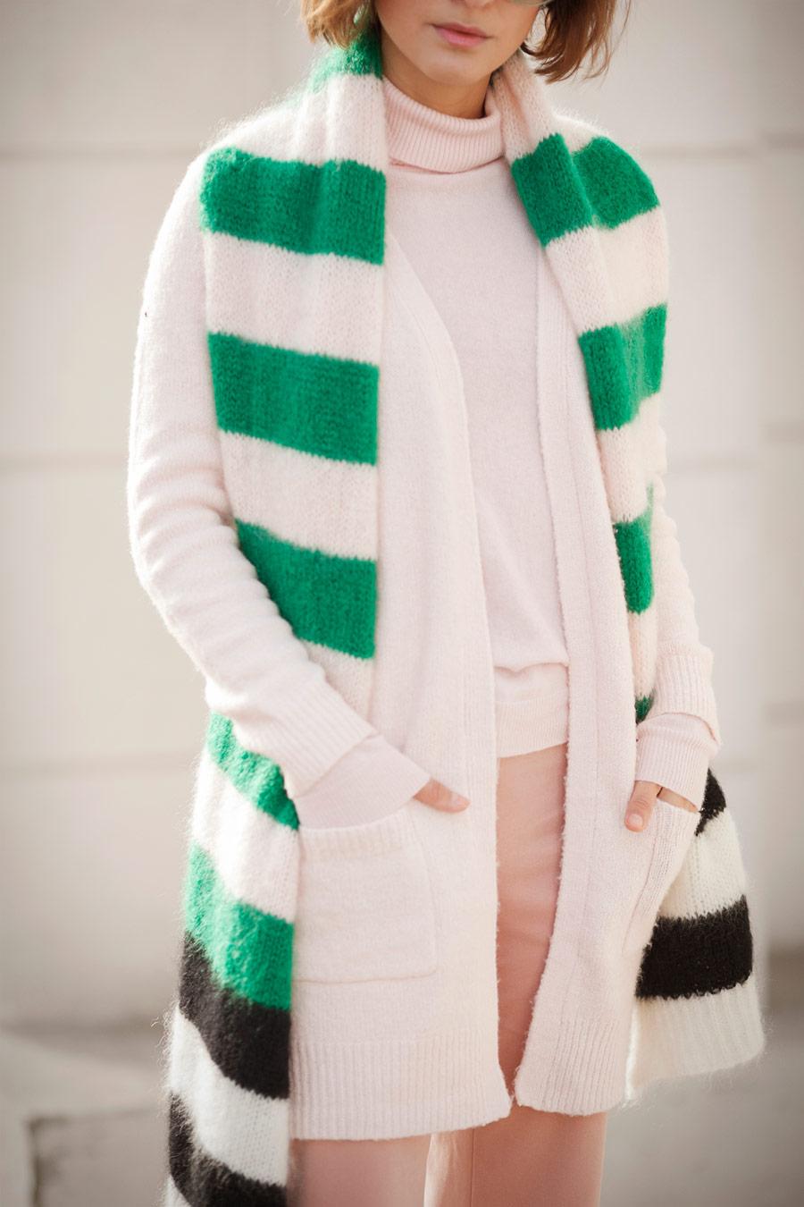 max mara scarf, micha lounge cardigan
