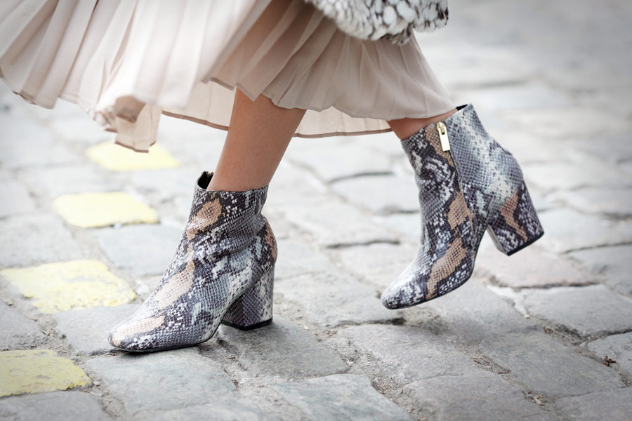 asos boots, python print boots, snake print boots,