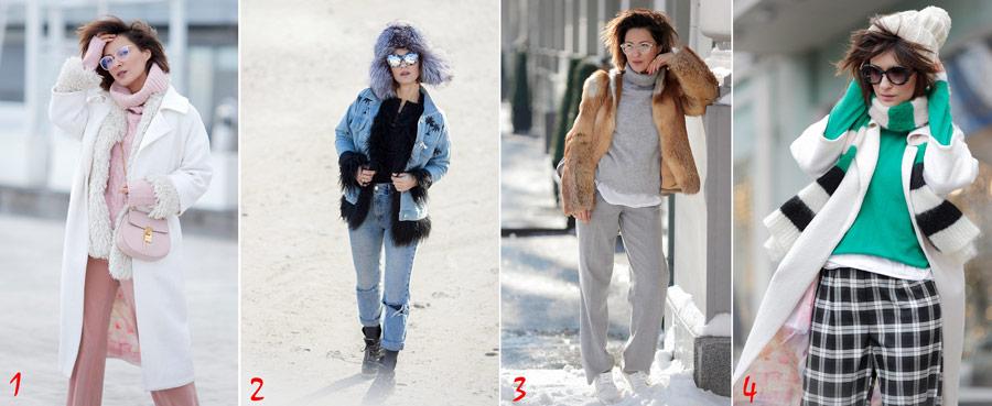 лучшие образы зимы, что носить зимой,