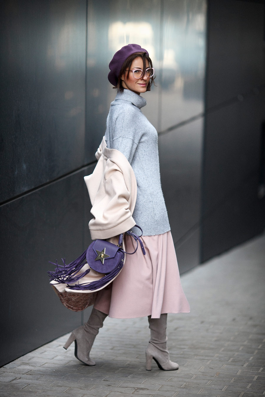 salar bags on streets