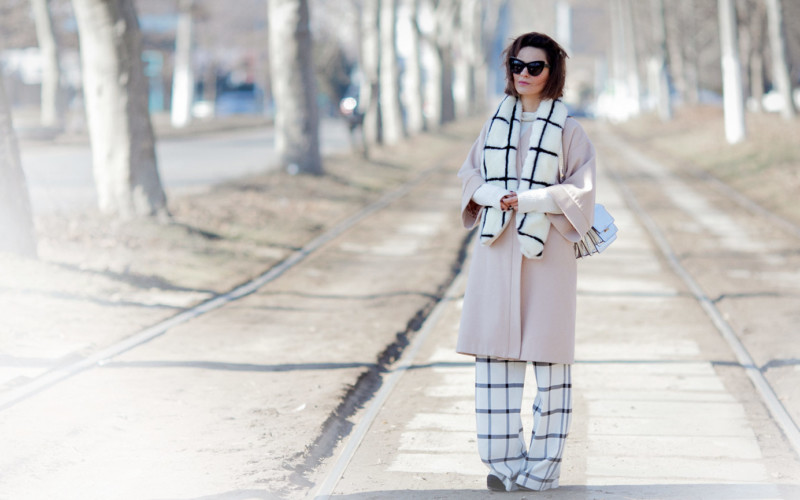 Windowpane Check Outfit