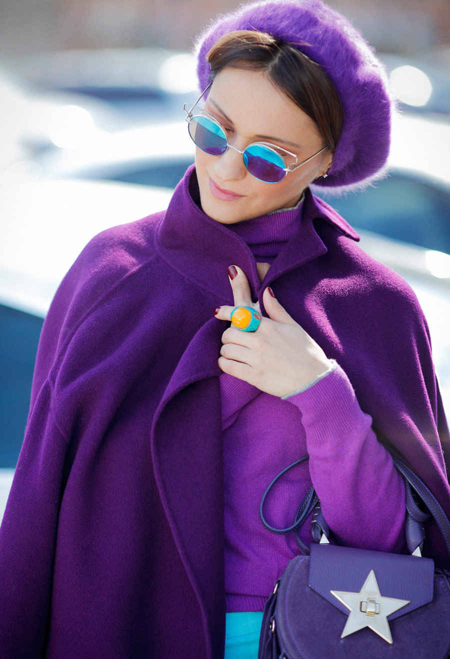 purple color for fashion