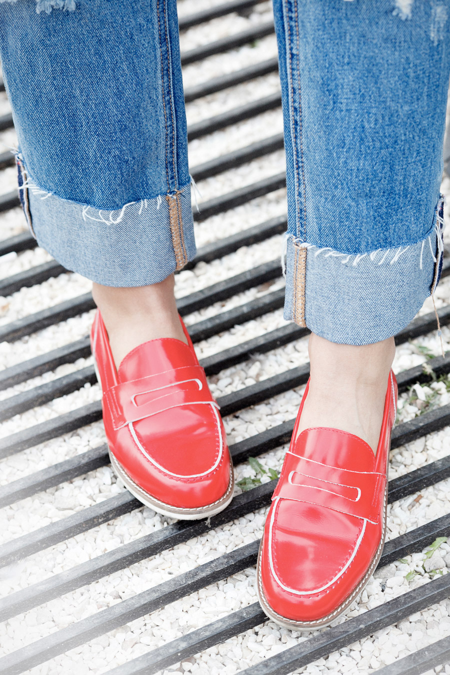 red_penny_loafers