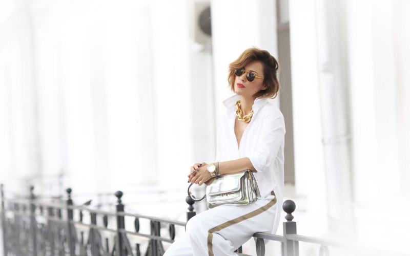 Total White Summer Outfit
