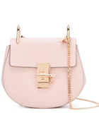 CHLOÉ  'Drew' shoulder bag in BLUSH