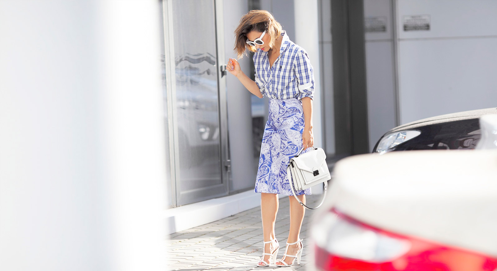 mixing prints outfits,