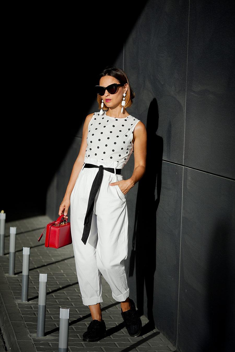 с чем носить белые брюки, HOW to wear white trousers